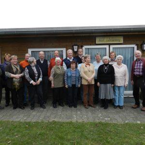 Gruppenfoto mit Seniorenverein