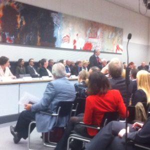 Joachim Gauck spricht vor der SPD-Fraktion