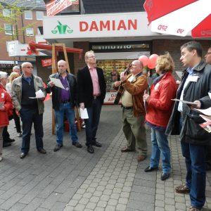 Wahlkampfauftakt mit Jochen Ott