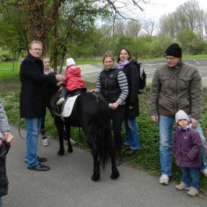 Jochen Ott beim Ponyreiten 2012