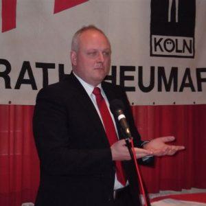 Ulrich Kelber in Rath/Heumar