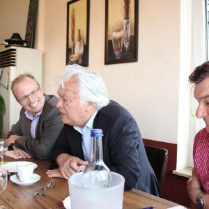 Jochen Ott, Willi Stadoll und Ingo Jureck