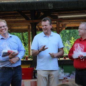 MdL Jochen Ott, MdB Martin Dörmann und FAS-Präsident Stephan Demmer