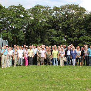 Gruppenfoto Kasernenwanderung 2013