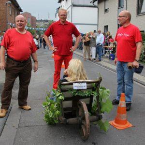 Ulf Florian, Jochen Ott und Dieter Becker am Start