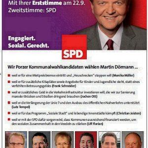 Martin Dörmann Anzeige