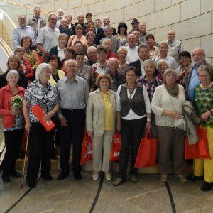 Auf in den Landtag 2013: Gruppenfoto