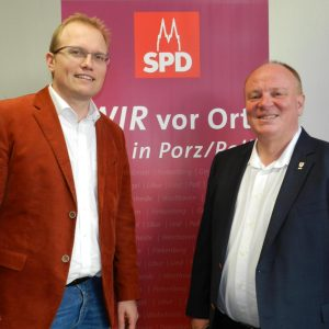 Jochen Ott und Ulf Florian
