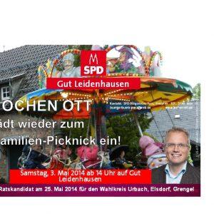 Einladung zum Familien-Picknick 2014
