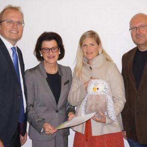 Jochen Ott, Gisela Walsken, Christina Kirsch und Frank Küchenhoff