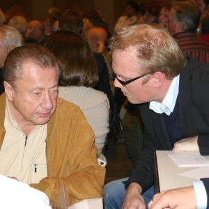 a Amtsvorgänger Lenz mit Jochen Ott