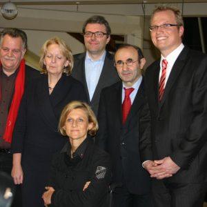a Landtagskandidaten mit Hannelore