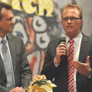 Martin Dörmann mit Jochen Ott  beim Porzer Neujahrsempfang 2010