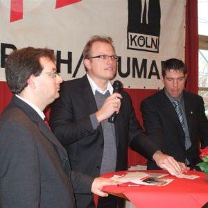 Jochen Ott beim Frühjahrsempfang Rath/Heumar