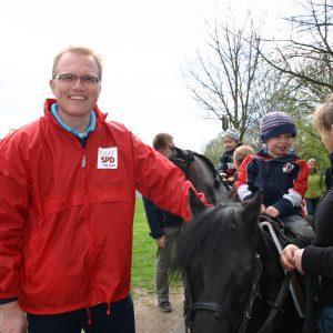Ponyreiten mit Jochen