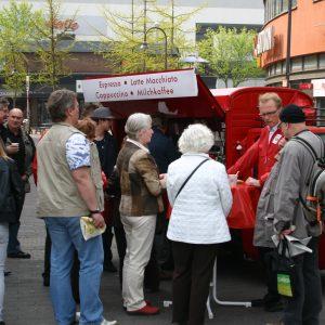 Cappuccino-Mobil mit Jochen Ott
