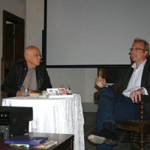 Jochen Ott im Gespräch mit Günter Wallraff, Klosterkapelle Porz-Zündorf