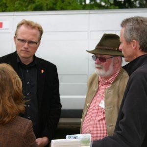 Jochen Ott und Hans Gerd Ervens beim Wahner Heidetag 2010