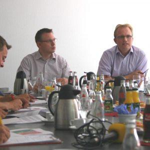 Pressekonferenz mit Martin Börschel und Jochen Ott