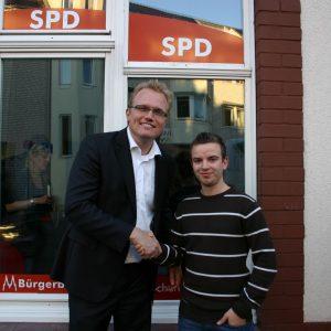 Jochen Ott mit Marcel Docters
