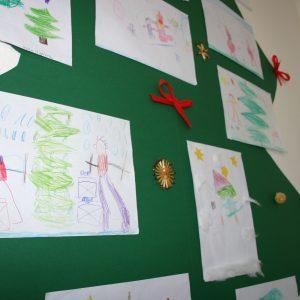 """Ausstellung """"Kinder malen Weihnachten"""""""